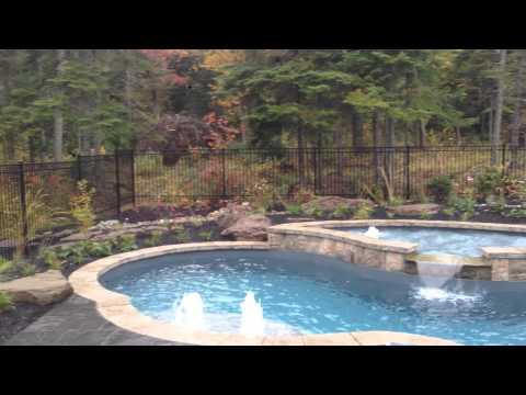 Fibreglass Pool with Tanning Ledge