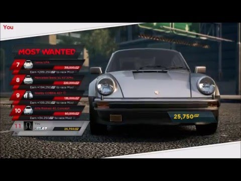 Need For Speed Most Wanted 2012 - Roadtrip