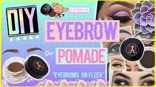 DIY ANASTASIA BEVERLY HILLS DIPBROW POMADE (Eyebrow pomade) || ExoticBlxss ♡