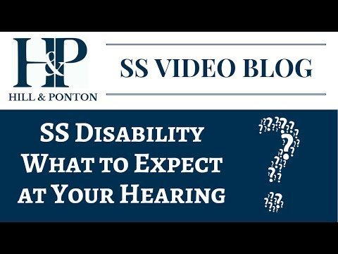 SS - What to Expect at Your Hearing