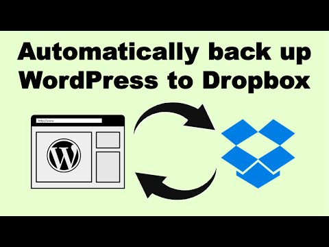 How to automatically back up your WordPress website to Dropbox (easy and free!)