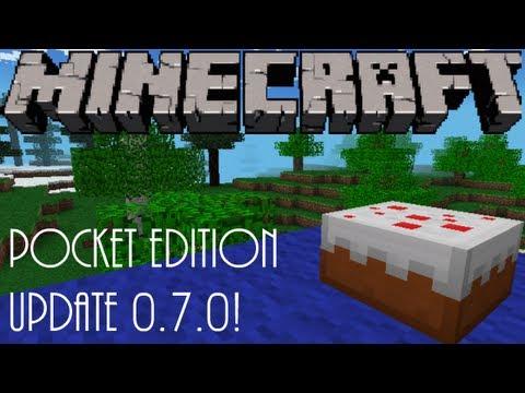 Minecraft Pocket Edition - Update 0.7.0 (Cake, Milk, Buckets & Minecraft Realms)