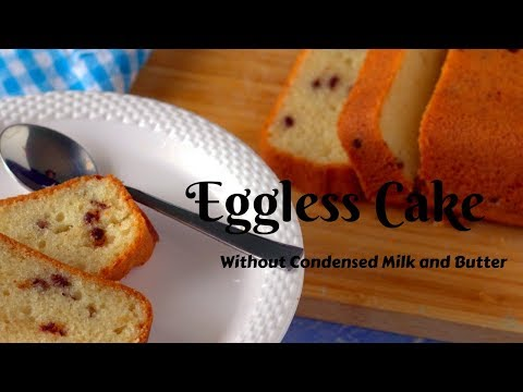 Very simple cake recipe without condensed milk and No Butter | Simple Egg less cake