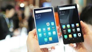 Обзор Xiaomi Mi Mix в черном и в белом цвете