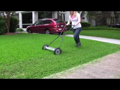 Deluxe Light Push Reel Lawn Mower