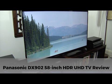 Panasonic DX902 TX-58DX902B 4K HDR UHD TV Review - The Most