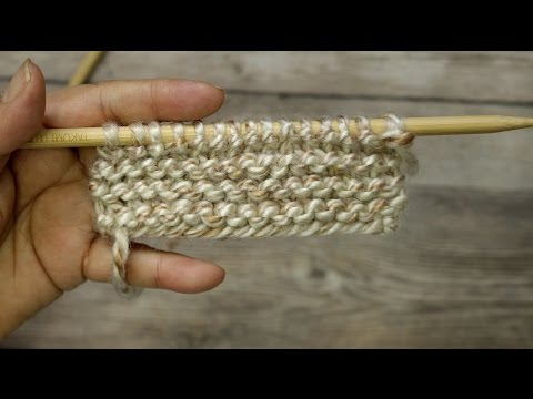 Learn to Knit the Garter Stitch