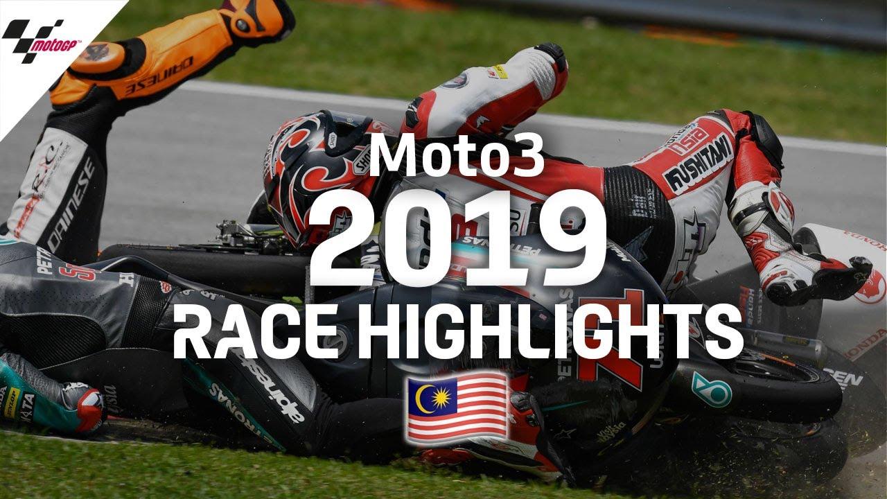 2019 #MalaysianGP | Moto3 Race Highlights