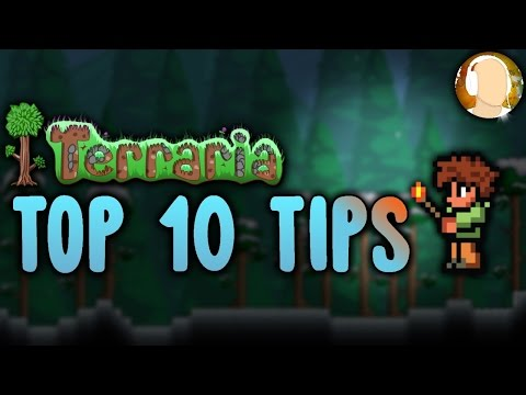 Top 10 Tips and Tricks For Any Player in Terraria | Building Houses, Exploring, and More!
