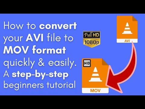 How to Convert AVI to MOV on Windows