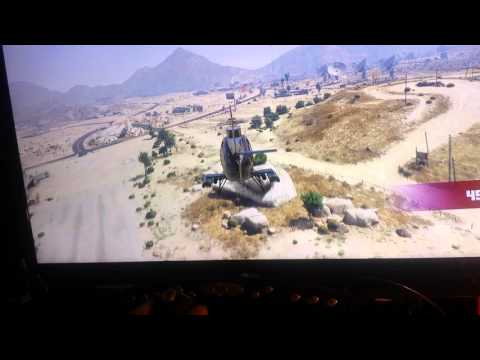 Playing grand theft auto 5 with a flight controller