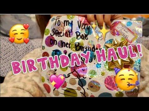 Birthday Gifts Haul!   awkwardflowers_