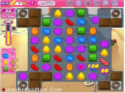 Candy Crush Level 165 Walkthrough Video & Cheats