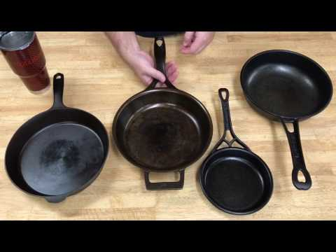 Modern Cast Iron Skillet Comparison