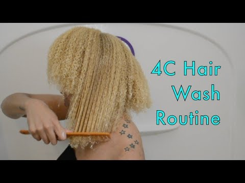 Curl, Coils & Kinks: 4C Hair Wash Routine ft Pantene Gold