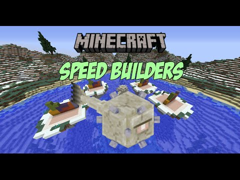 Minecraft - Speed Builders #1 - playithub com