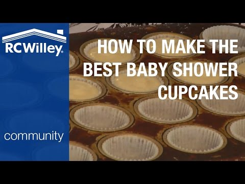 How to Make the Best Baby Shower Cupcakes