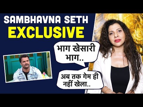 Xxx Mp4 Khesari Lal Yadav के गेम पर Sambhavna Seth का Shocking Reaction Bigg Boss 13 EXCLUSIVE 3gp Sex