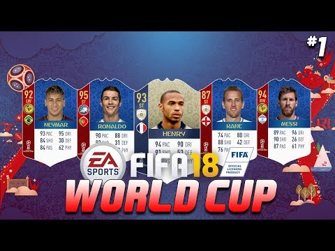 ITS HERE!!! - FIFA 18 WORLD CUP ULTIMATE TEAM #1