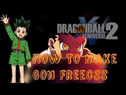 Dragon ball XV2 | How to make Gon Freecss