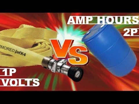 eBike Volts VS Amp Hours