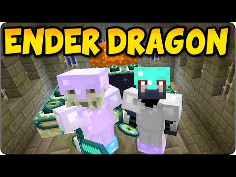 Minecraft PS4 Survival The Ender Dragon Hunt Part 3 - Multiplayer Gameplay Console Edition