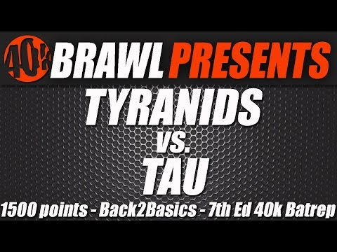40k Brawl! Farsight Enclaves Vs Tyranids 1500 pts Batrep