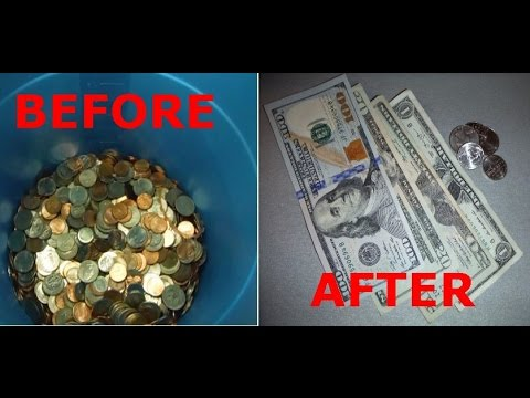 How to and Where to Make Cash from Coins Before & After with Coinstar