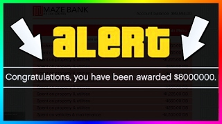 GTA ONLINE IS BROKEN....ENDLESS FREE MONEY GIVEN TO GTA ONLINE PLAYERS BY ROCKSTAR & MORE! (GTA 5)