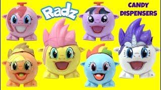 Mlp My Little Pony Wrong Heads Mix N Match Radz Candy Dispensers