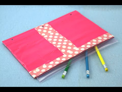 How to Make a Duct Tape Pencil Case | Sophie's World
