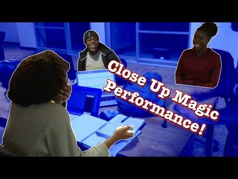 Close Up Magic Performance! | Memento Mori Blue Deck Review