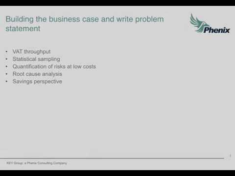 Building the business case and write problem statement