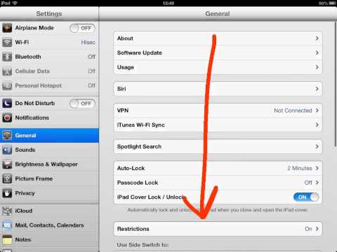 How to disable iPad split keyboard