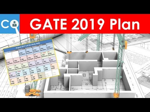 GATE 2019 Plan for Civil Engineering   BATMAN Plan