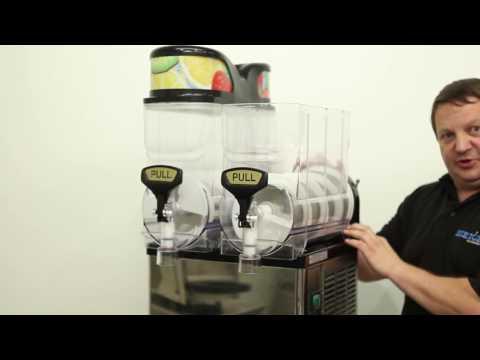 Blue Ice Slush Machine Training/Operating Instructions