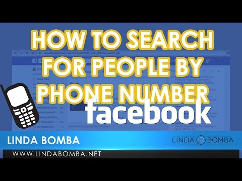 How To Search For People By Phone Number On Facebook