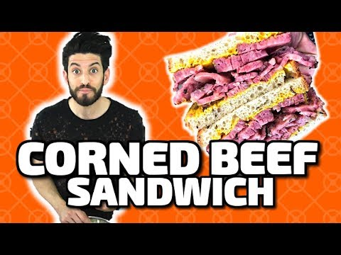 How to make a Corned Beef Sandwich