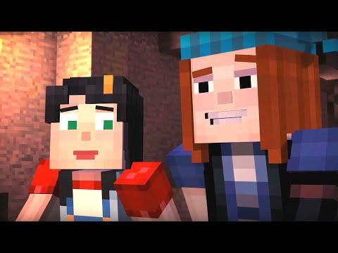 Minecraft: STORY MODE: The Order of the Stone - Part 2