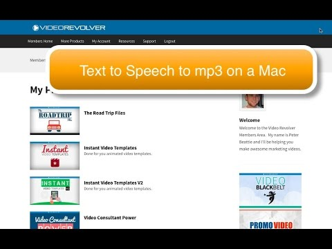 How to Record text to speech as mp3 on Mac OS - tips and tricks