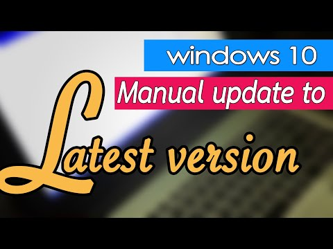 Easy manual update windows 10 version 1709 to 1803 (Aug2018) and 1809 (Oct2018), How many time?