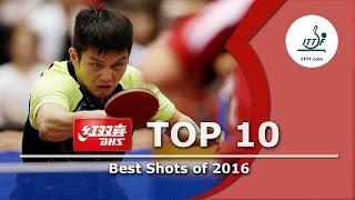 DHS ITTF Top 10 - Best Shots of 2016