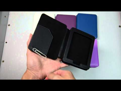 MAGNETIC ULTRA THIN PU LEATHER COVER CASE FOR KOBO MINI eReader FOLIO POUCH