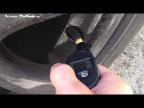 How to Check Tire Pressure [HD]