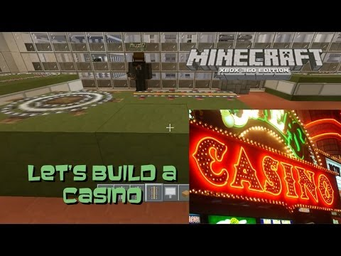 Minecraft: Let's Build Casino Tables and Slot Machines (Poker, Roulette, Blackjack, and Craps)