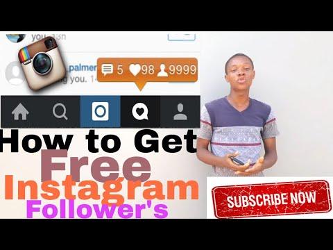 Get 500 Instagram followers every hour (No Work-Free followers)