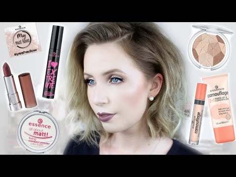 Full Face of ESSENCE Makeup | Cool-Toned Makeup on Fair Skin