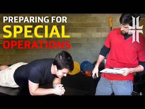 How to Prepare for Special Operations