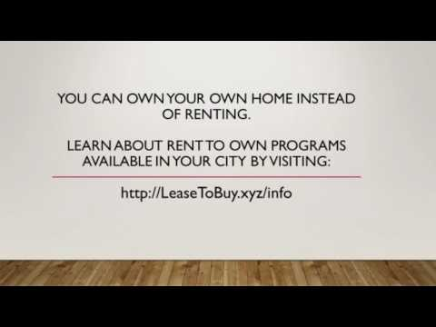 Rent To Own Homes In Colorado - Lease Option To Buy
