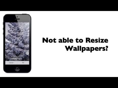 iOS 7, iOS 7.1 Wallpaper Problem - Fix Zoomed Wallpaper with Wallax app